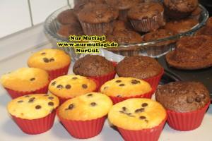 damla cikolatali muffin topkek - ici dolgulu kakaolu muffin (16)