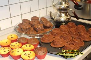 damla cikolatali muffin topkek - ici dolgulu kakaolu muffin (18)