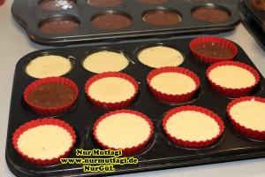 damla cikolatali muffin topkek - ici dolgulu kakaolu muffin (3)