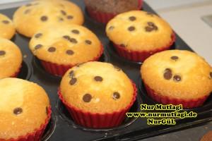 damla cikolatali muffin topkek - ici dolgulu kakaolu muffin (8)