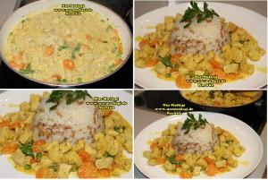 Kremali sebzeli Tavuk Sote (2)