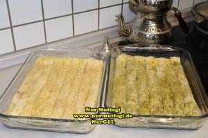 fistikli baklava, cevizli baklava, hazir yufka ile baklava nasil yapilir, citir baklava tarifi (23)