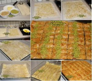 fistikli baklava, cevizli baklava, hazir yufka ile baklava nasil yapilir, citir baklava tarifi (3)