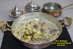 haspirli safranli yogurtlu patatsli nohut yemegi gaziantep antep (35)