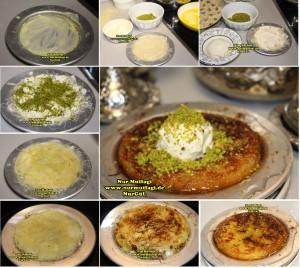 künefe kaymakli peynirli fistikli  (1)set