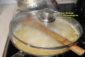 makarna tavada susuz makarna pilav (3)