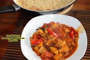 patlicanli sebzeli tavuk kebabi tavada (12)