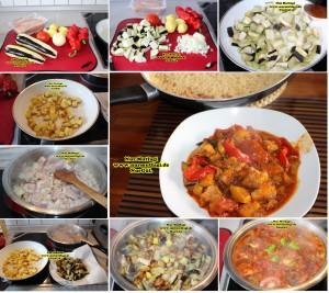 patlicanli sebzeli tavuk kebabi tavada (2)