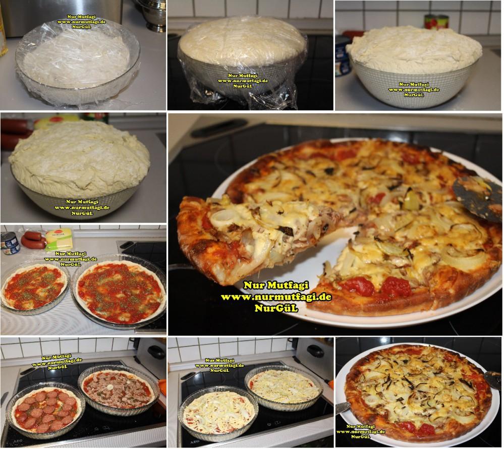 Tatlı pizza tarifi