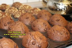 findikli damla cikolatali kakaolu muffin tarifi (9)