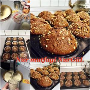 findikli damla cikolatali kakaolu muffin tarifi set(14)