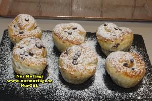 nutellali muffin - milföy hamurdan muffin tarifi (12)