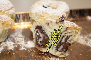 nutellali muffin - milföy hamurdan muffin tarifi (18)