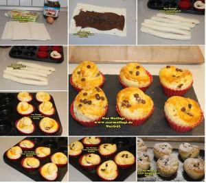 nutellali muffin - milföy hamurdan muffin tarifi (2)
