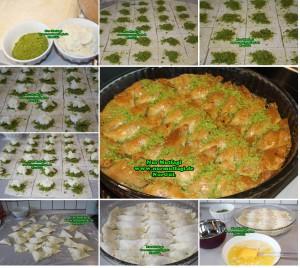 Söbiyet tatlisi - fistikli söbiyet baklava tarifi - el acma söbiyet nasil yapilir tarifi (8)set