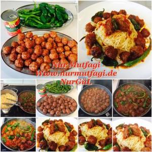 domates soslu mini köfteli spaghetti  (3)
