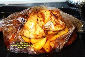 firin posetinde sebzeli tavuk kizartmasi (7)