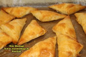 ücgen citir börek - peynirli ücgen börek - nutellali citir börek tarifi  (15)