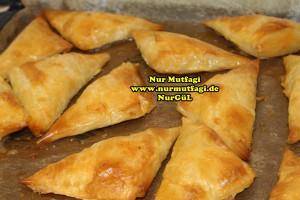 ücgen citir börek - peynirli ücgen börek - nutellali citir börek tarifi  (17)