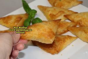 ücgen citir börek - peynirli ücgen börek - nutellali citir börek tarifi  (24)
