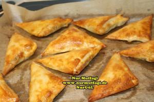 ücgen citir börek - peynirli ücgen börek - nutellali citir börek tarifi  (28)