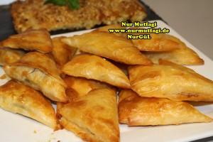 ücgen citir börek - peynirli ücgen börek - nutellali citir börek tarifi  (40)