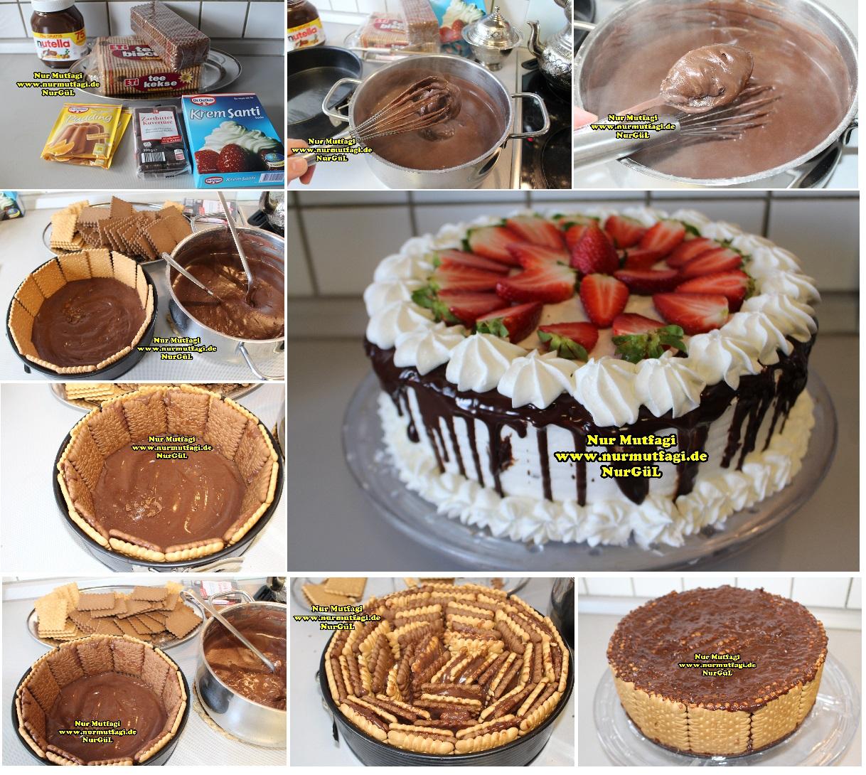 Yulaflı Bisküvi Pastası