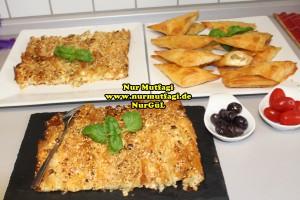 pileli börek - büzgülü börek - hazir yufkadan citir börek tarifi (23)
