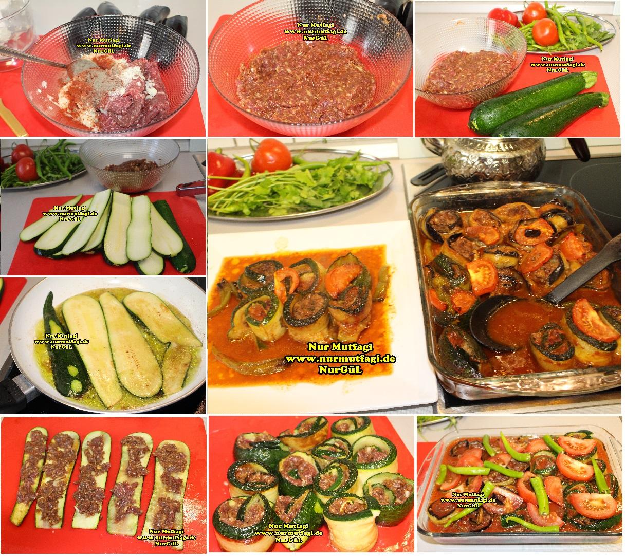 Patlıcanlı Kebap Yemeği Yapılışı Videosu