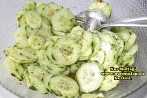 salatalik salatasi tarifi