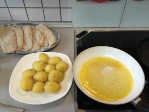tavada kizartilmis baharatli patates tarifi