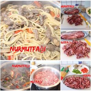 etli spagetti tarifi, spaghetti makarna sosu tarifi