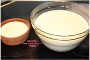 firinda kaymakli yogurt tarifi, ev yogurdu