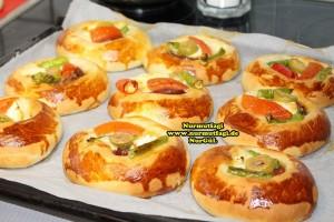 k-cicek pogaca, gül pogaca, pizza pogaca, karniyarik pogaca, bir hamurdan 6 cesit pogaca tarifi (37)
