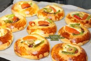 k-cicek pogaca, gül pogaca, pizza pogaca, karniyarik pogaca, bir hamurdan 6 cesit pogaca tarifi (38)