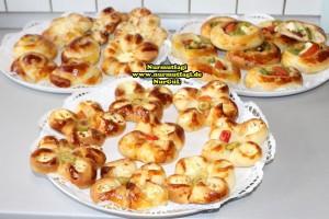 k-cicek pogaca, gül pogaca, pizza pogaca, karniyarik pogaca, bir hamurdan 6 cesit pogaca tarifi (67)
