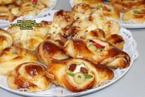 k-cicek pogaca, gül pogaca, pizza pogaca, karniyarik pogaca, bir hamurdan 6 cesit pogaca tarifi (72)