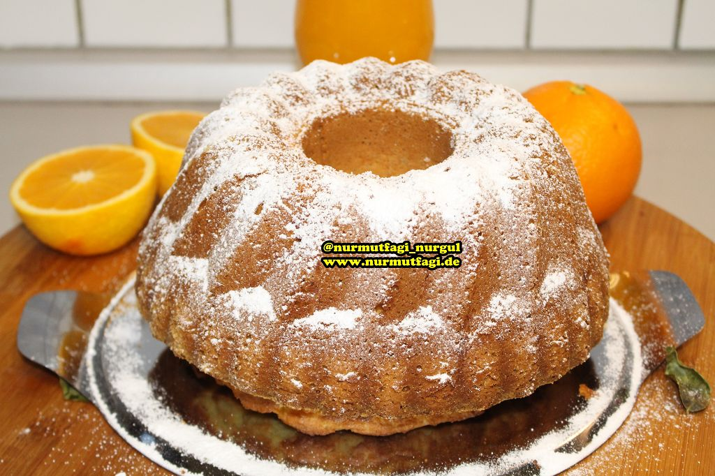çok Kabaran Portakallı Kek Nur Mutfağı