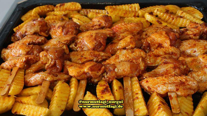 firinda tavuk kanadi, günün menüsü, marine soslu kanat tarifi (3)