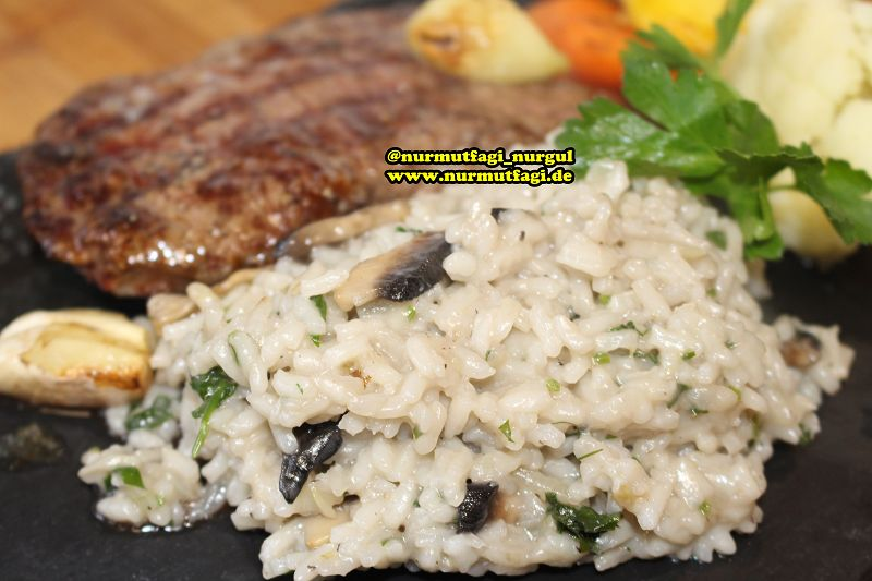 risotto pilav tarifi mantarli risotto (7)